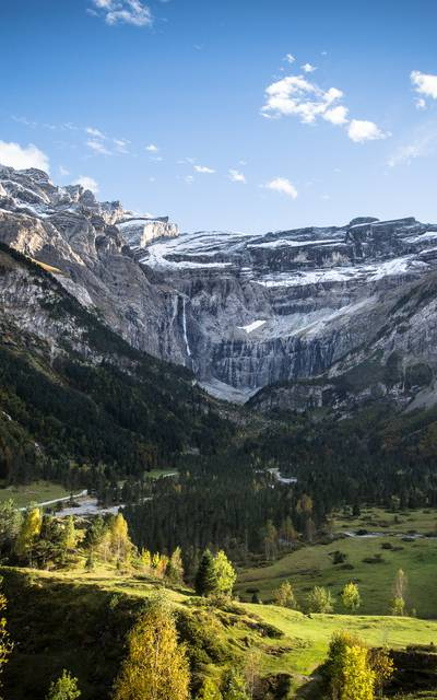 The summer in Gavarnie Valleys