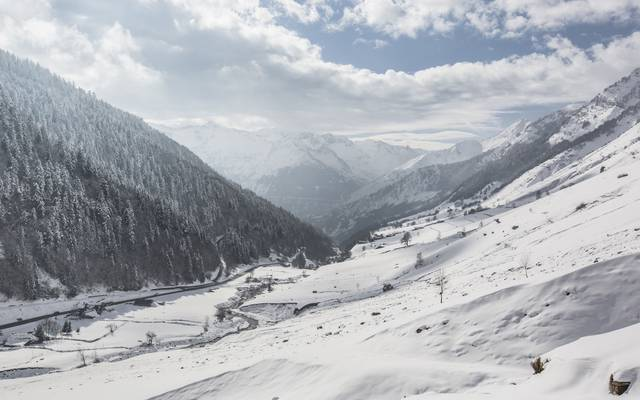 Experience the excitement of winter in Barèges