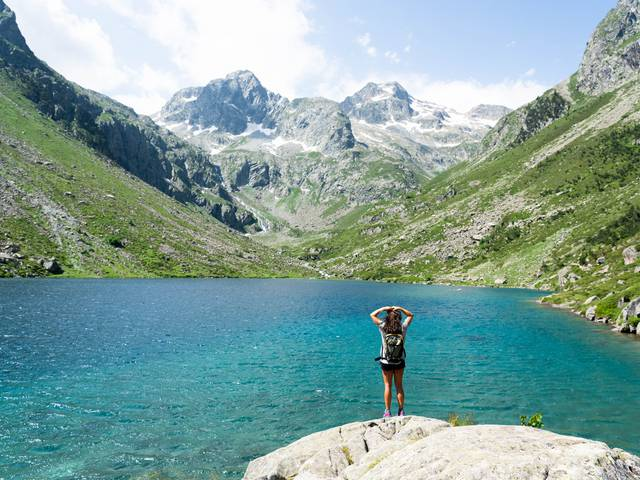 Hiking lakes Cauterets Pyrénées